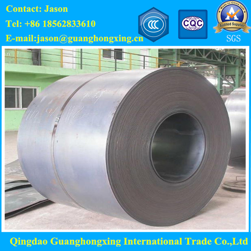 Gbq235, ASTM Gradec, D, JIS Ss400, En S235jr Hot Rolled Steel Coil