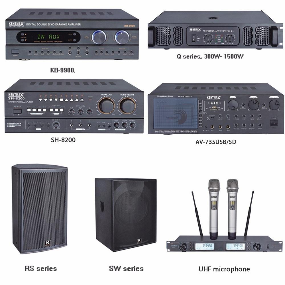 DJ Sound Class H 300 Watt Output Power Amplifier