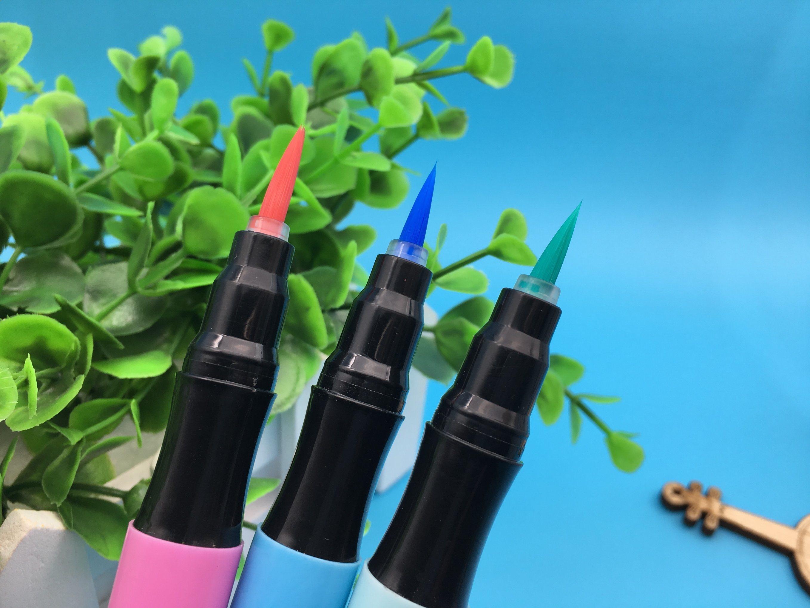 Soft Water Color Brush Marker Pen