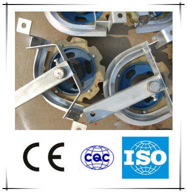 Turning Corner Wheel Assembly for Slaughtering Line Spare Parts