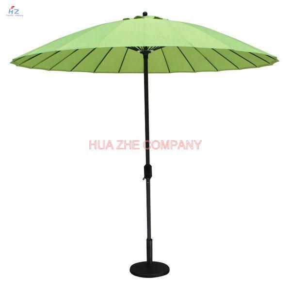 Pation Umbrella Outdoor Umbrella Garden Umbrella with Fiberglass Umbrella (Hz-S042)