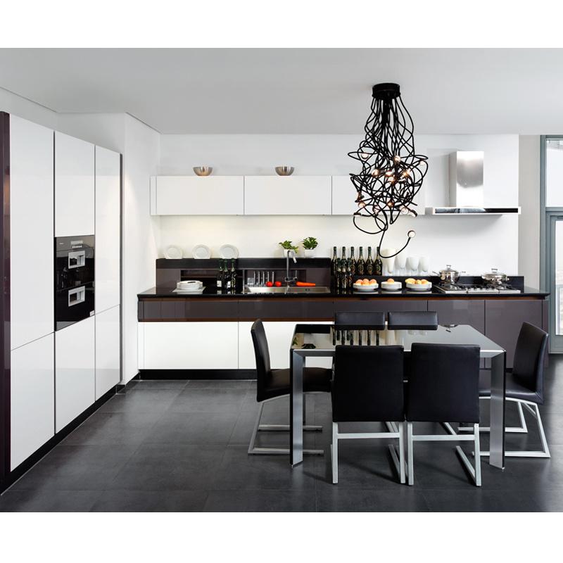 Kitchen Simple Furniture : China Simple Style White Polyurethane Kitchen Furniture Photos ...