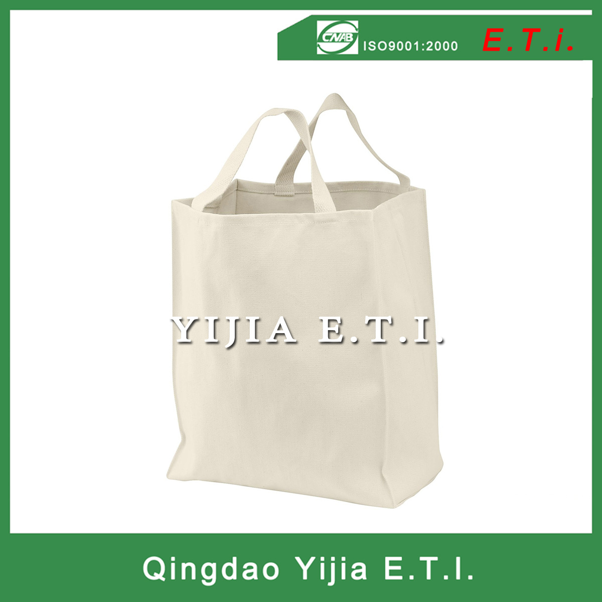 Eco Freindly Cotton Canvas Carring Tote Bag