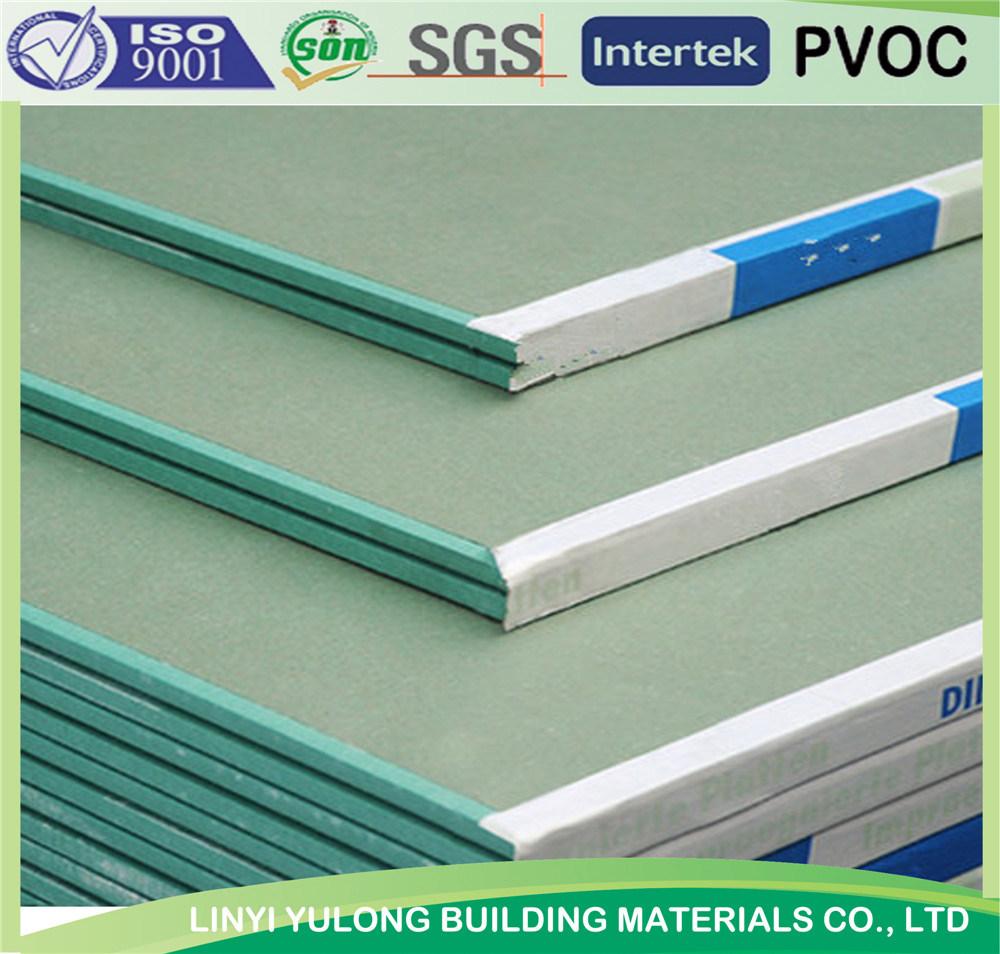 Moisture Proof /Moisture Resistant Gypsum Drywall Board