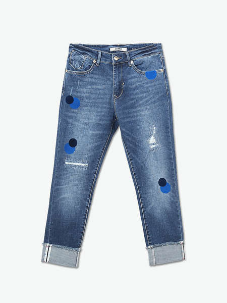Good Quality Fitness Fashion Design Women Jeans