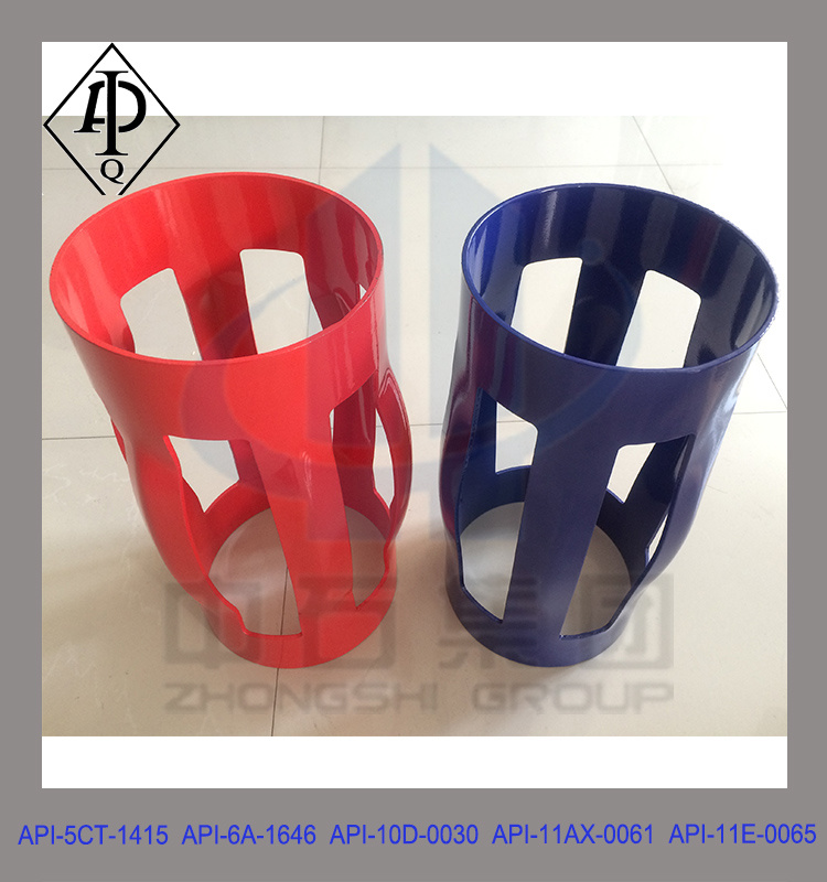 API High Restoring Force Single Piece Centralizer, Integral Casing Centralizer