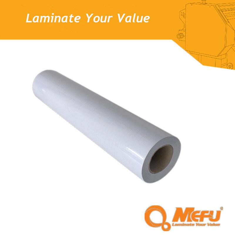 Mefu Glossy PVC Self Adhesive Cold Lamination Film