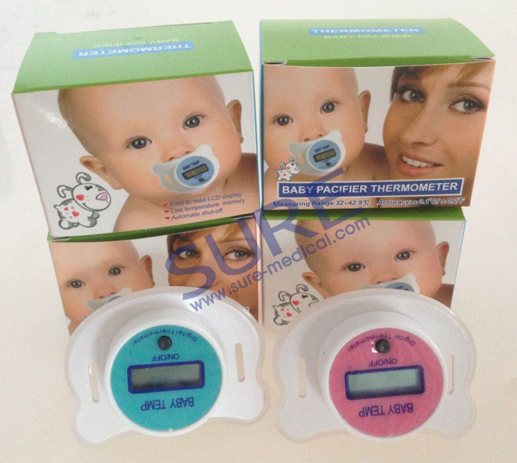 High Accuracy Safety Baby Pacifier Thermometer (SR-B100D)