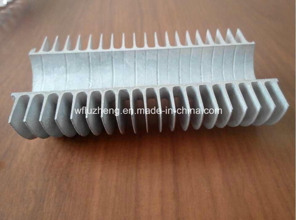 Aluminum Steel Integral Fin Tube, Whole Fin Tube, Al Fin Tube for Cooling Air