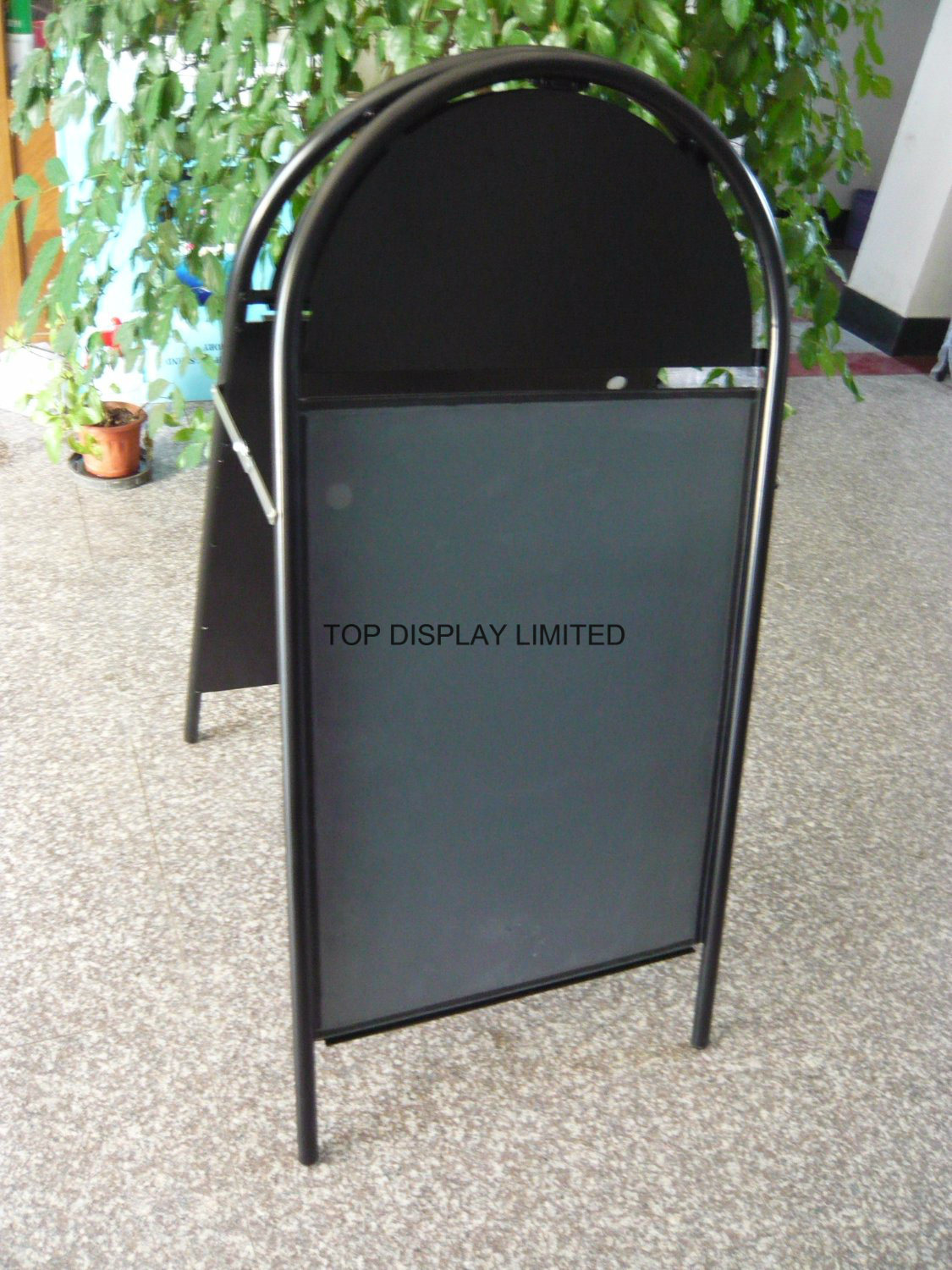 Round Metal a Frame Signs/Traffic Sign, Advertising Display, Outdoor Sign, Display, Sign Board, Billboard, , Display, Advertising, Banner