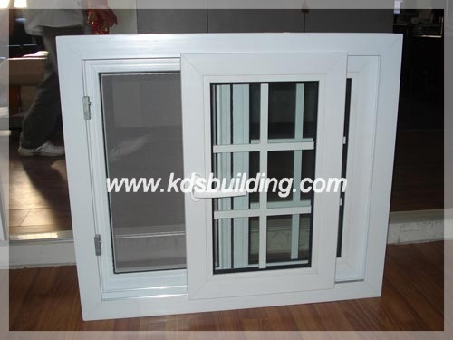 Energy Saving with Double Glass PVC Sliding Window (KDSPVC003)