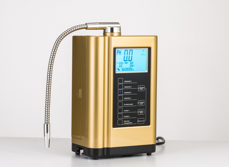 Display Temperature Intelligent Voice System Ionized Alkaline Water Ionizer
