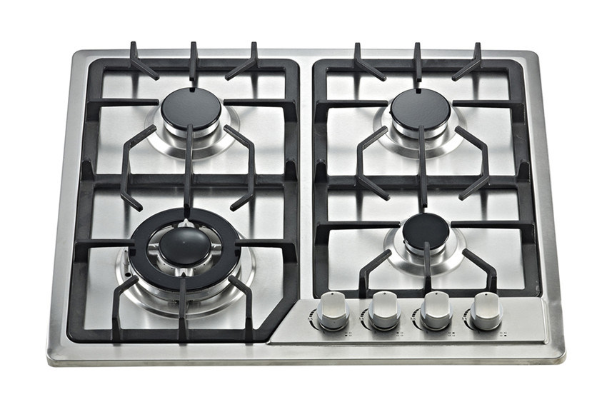 Build-in Gas Cooker Hob with Stainless Steel Top and Four Buners Sn-614A