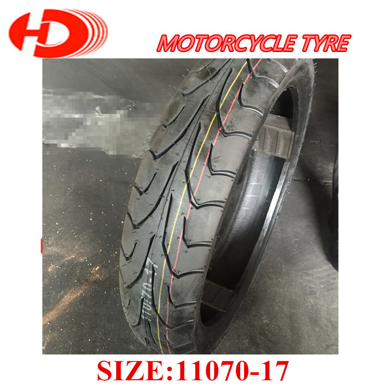 Asian Top Quality Rubber Motorcycle Tire 110/90-17 Durugo Brand