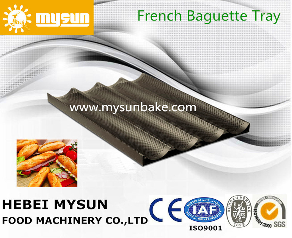 Industrial Baguette Tray/ Baking Pan with for Bread