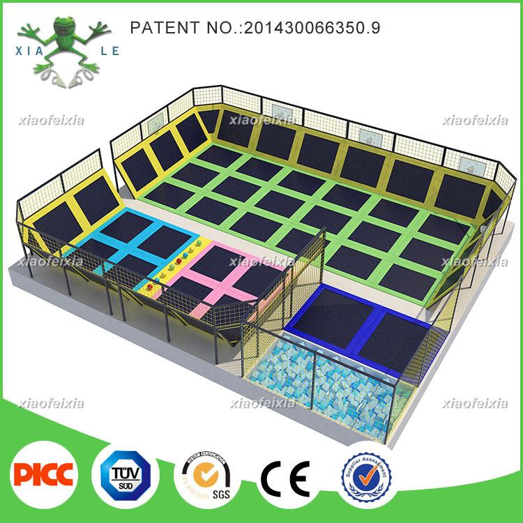 ASTM Approved Commercial Kids Indoor Trampoline Park