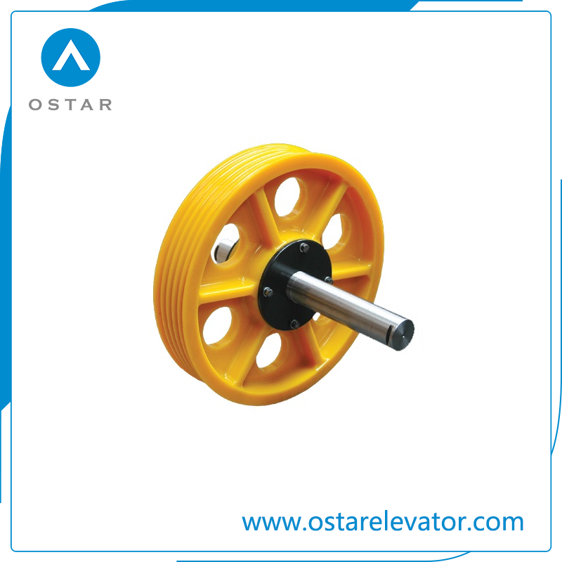 Nylon Deflector Sheave, Diversion Sheave, Elevator Parts (OS13)