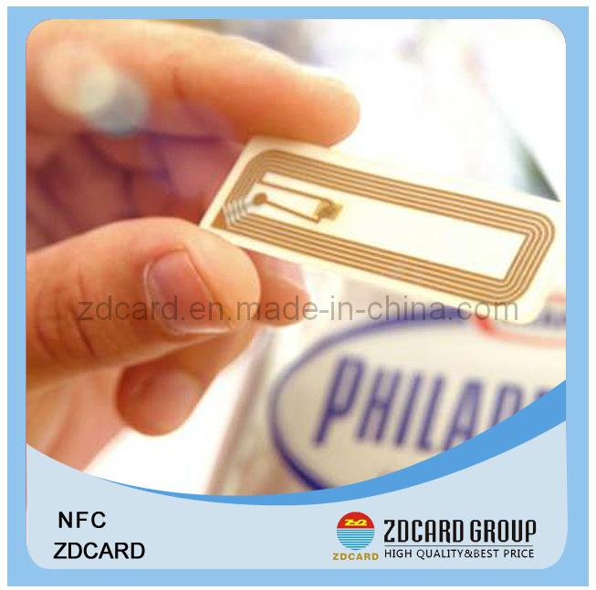 UV Spot RFID Blank Business Plastic Smart Card Printed