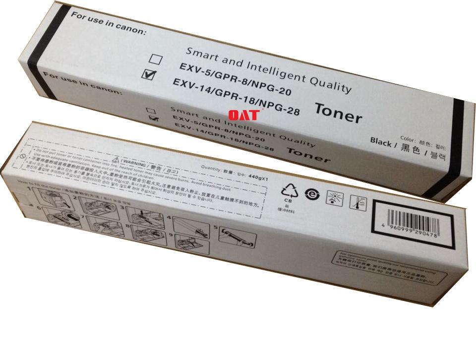 Gpr18 Black Toner Cartridges for Copier