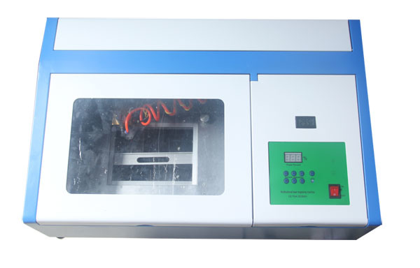 Rubber Stamp, Name Plate, Jeans CO2 Laser Engraving Machines 40W Machinery