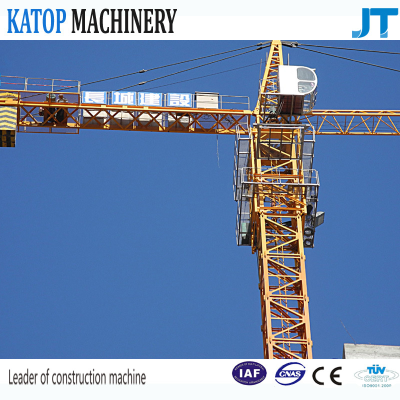 4t Load 48m Boom 1t Tip Load Construction Tower Crane
