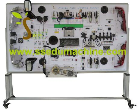 Automotive Electrical Wiring Training System Didactic Equipment Didactic Material