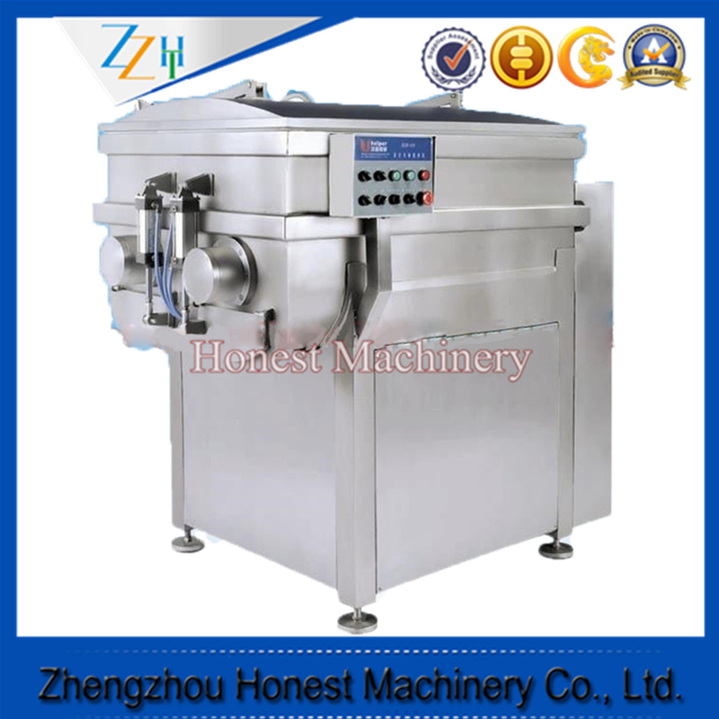Vacuum Double Shaft Meat Processing Mixer