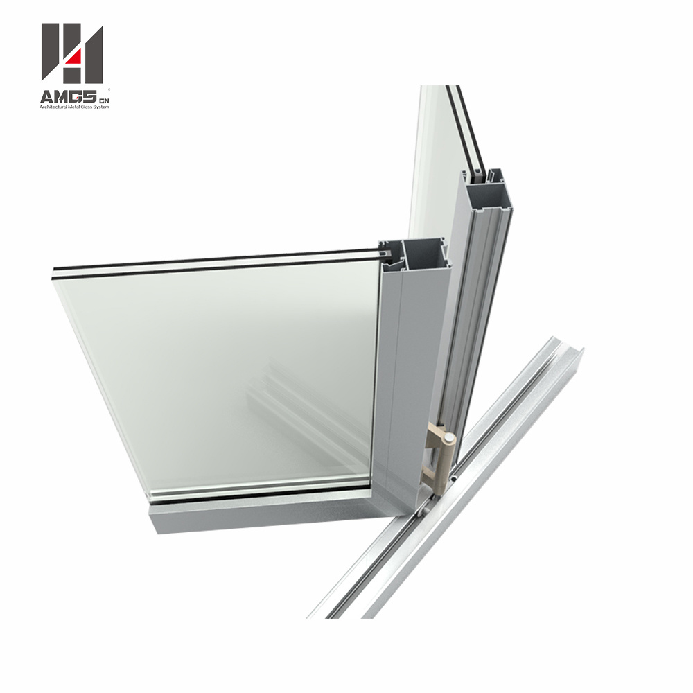 Customzied High Quality Double Glazing Aluminum Exterior Folding Doors