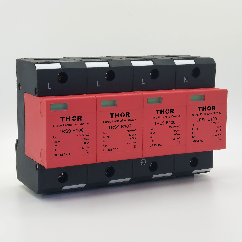 AC Power Surge Protector/Lightning Arrester for CE (SPD)