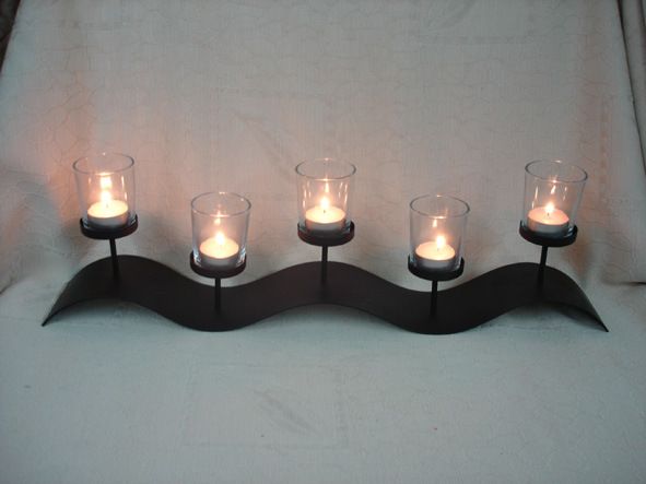 Metal candle holder ch0248 china crafts candle holder for Candle holder crafts