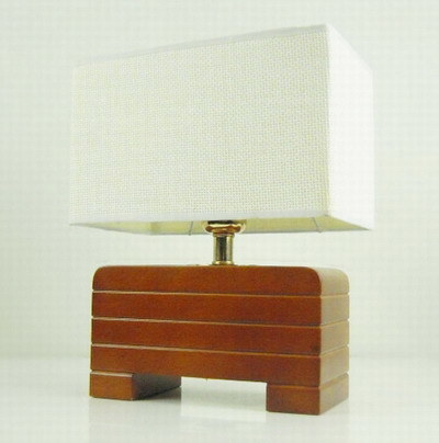Table lamp reading light sellwell trading company for Crafting wooden lamps
