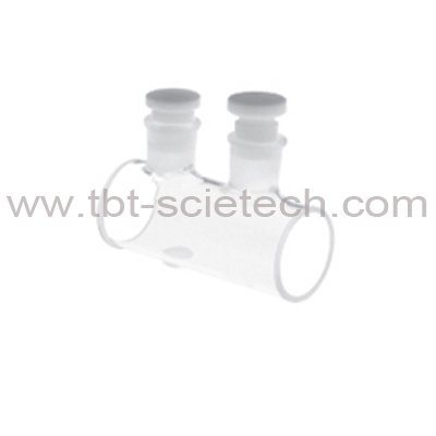 China High Quality Lab Used Quartz Glass Flow Cell