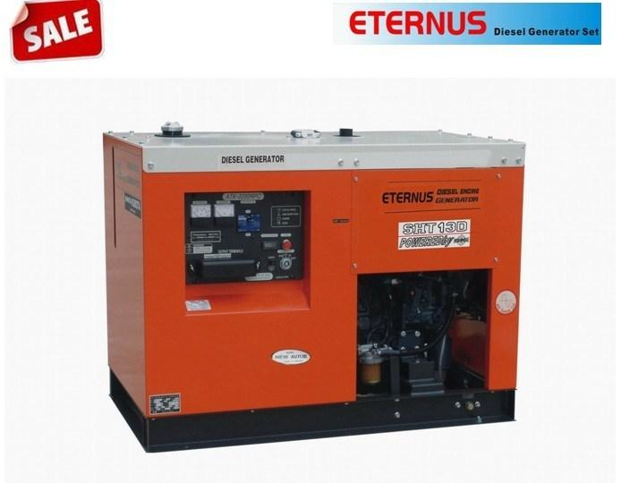 10kw/10kVA Three Phase Cummins Diesel Generator (SHT13D)