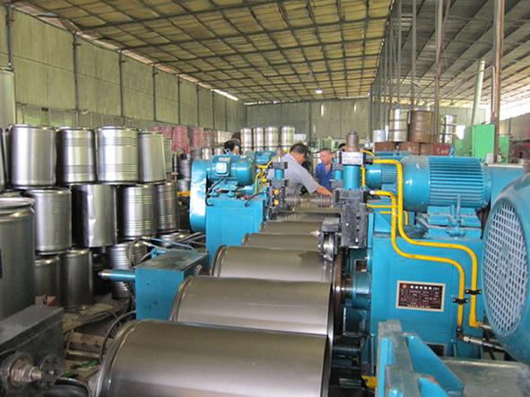 Steel Barrel Making Machine