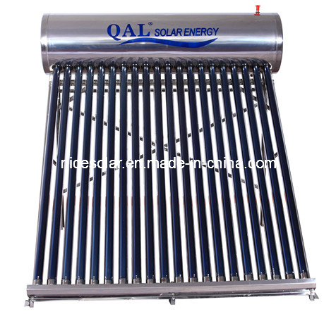 2014non-Pressure Stainess Steel Solar Water Heater 200L with CE Certification