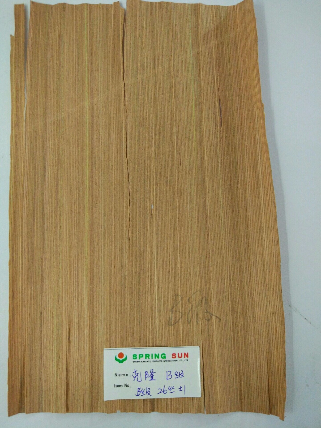 Natural Wood Veneer for Decoration