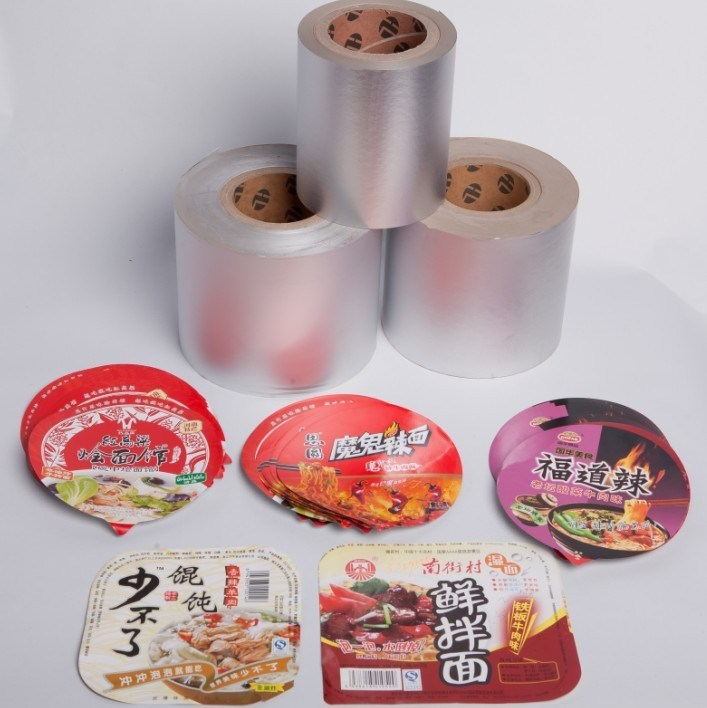 Aluminium Foil Paper Used for Food Packaging Material