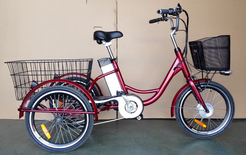 Electric Tricycles for Cargos