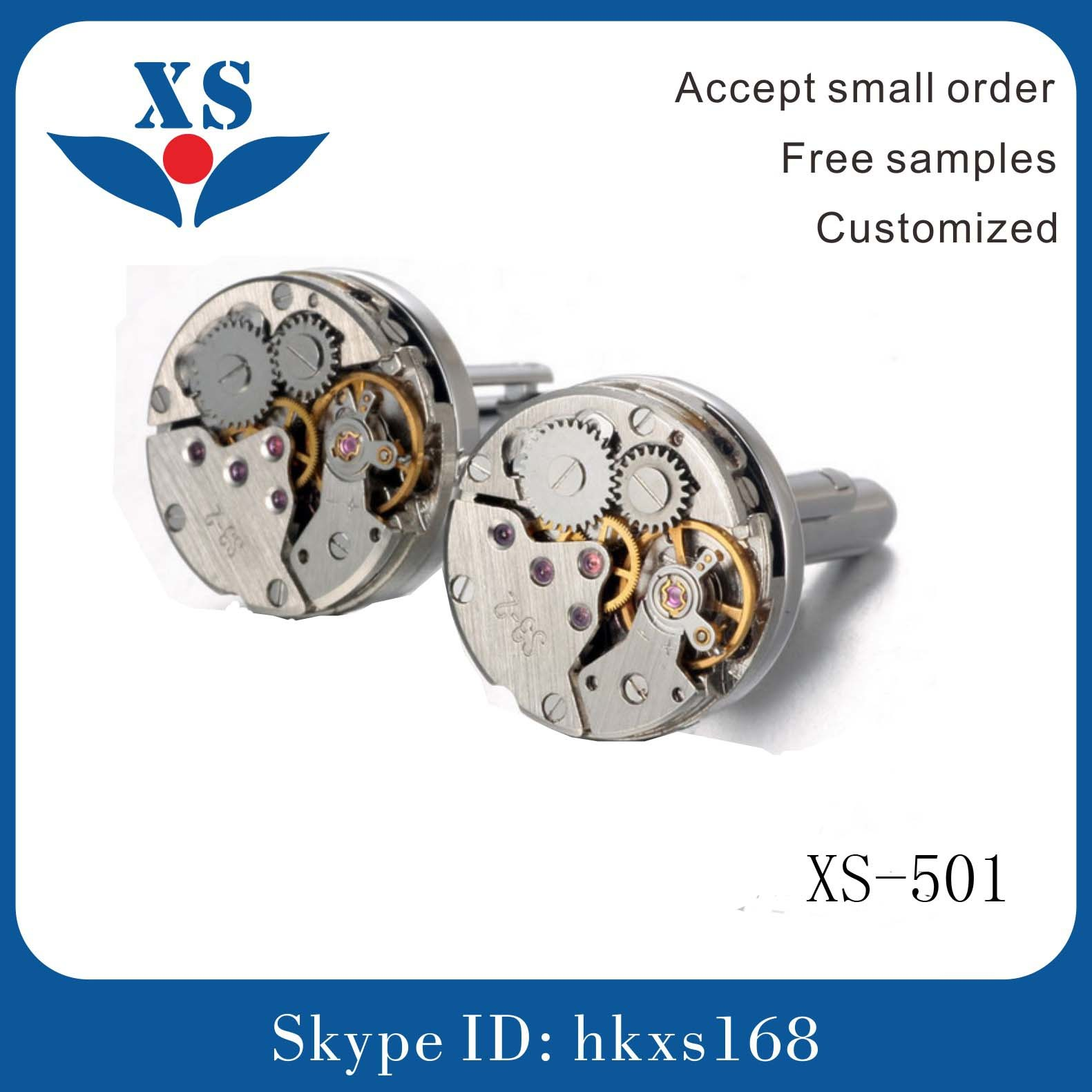 High Quality Stainless Steel Cufflink for Men