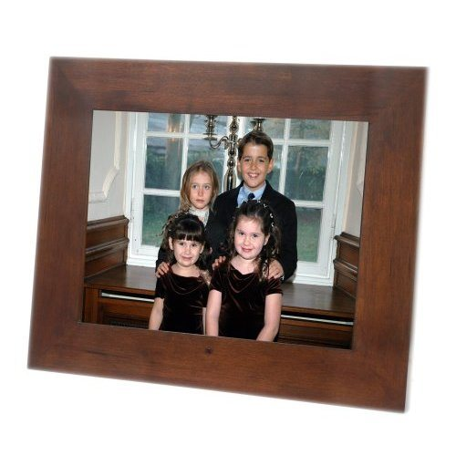 Wooden Digital Photo Frame with Customized Wooden