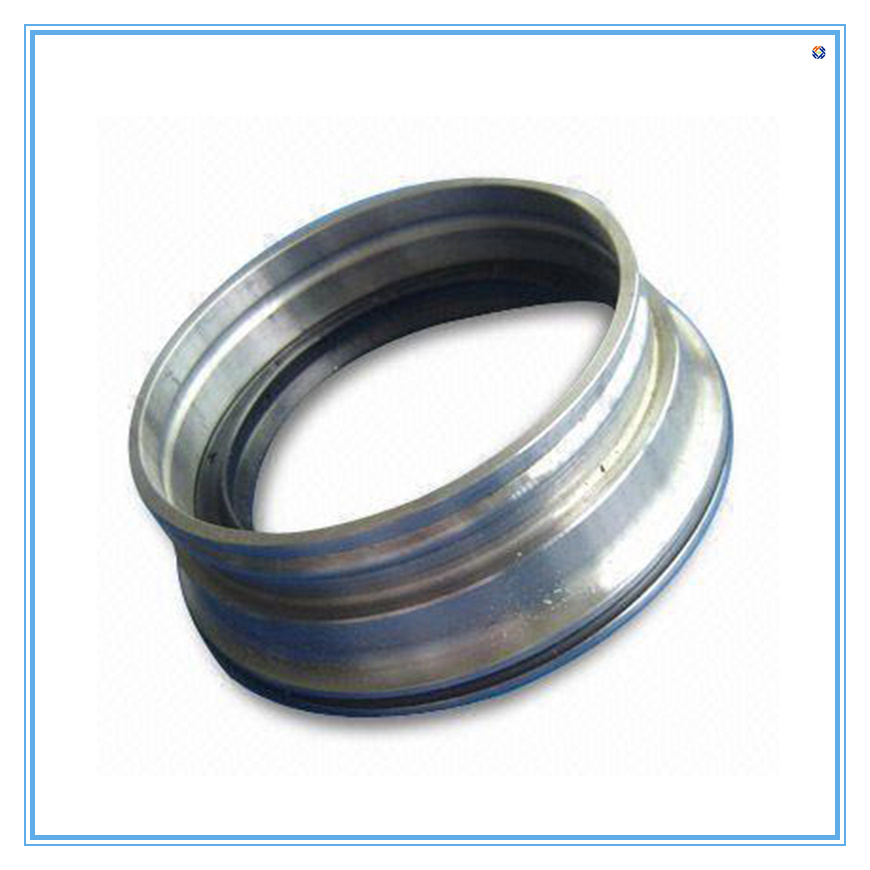 Machining Flange Made of Stainless Steel and Cooper