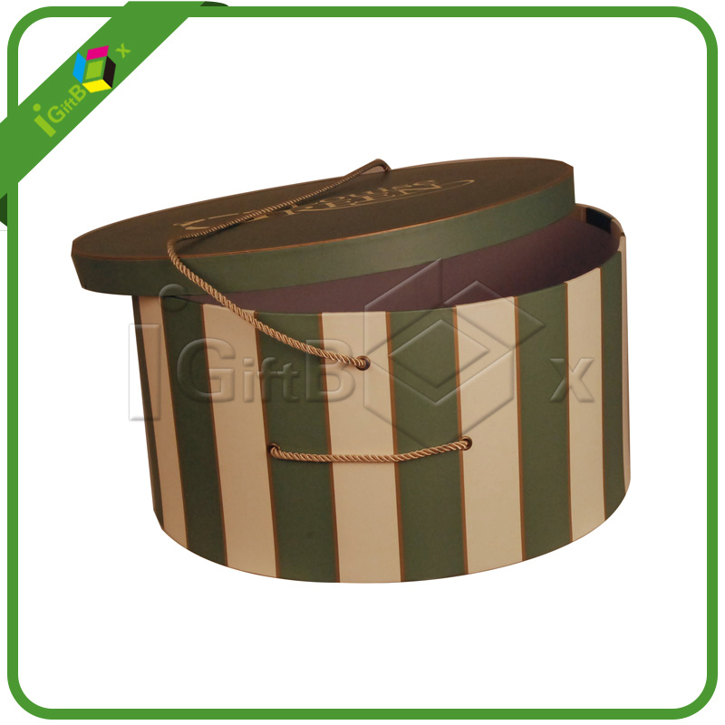 Custom Design Cardboard Round Box