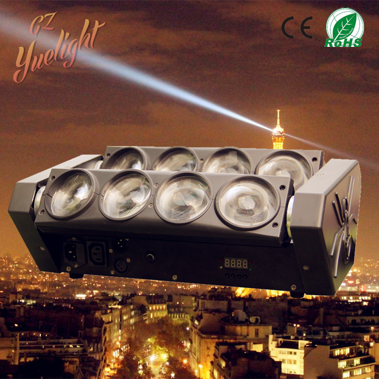 Best Price for Spider 8 Eye Bar 8*12W Full Color LED Spider Beam Moving Head Light