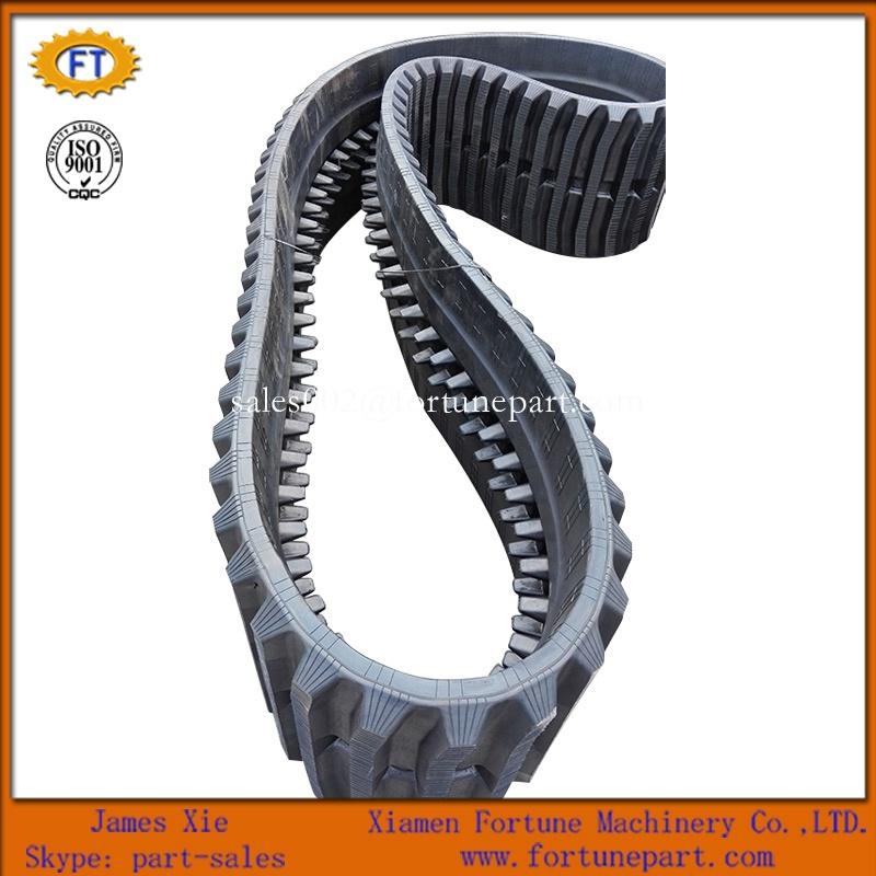 Hitachi Caterpillar Komatsu Mini Excavator Harvest/Tractor/Loader/Agriculture Rubber Track