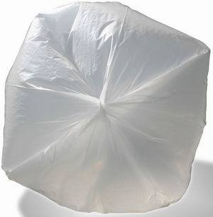 HDPE Transparent Food Bag / Plastic Bag / Roll Bag / Can Liner / Bin Liner