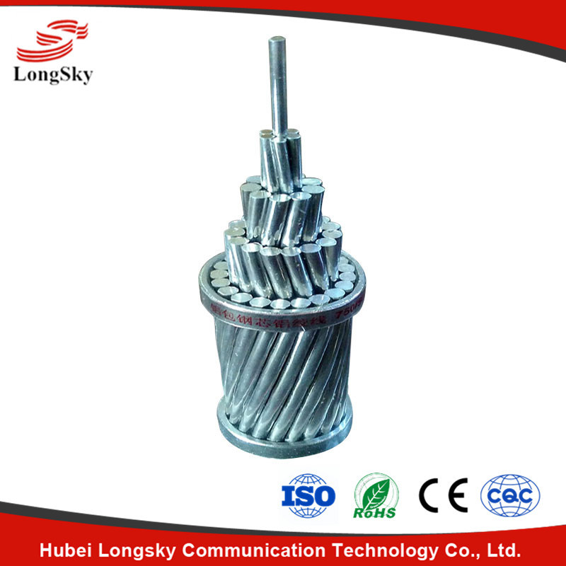 Aluminum Clad Steel Wire Acs for Overhead Ground Conductor
