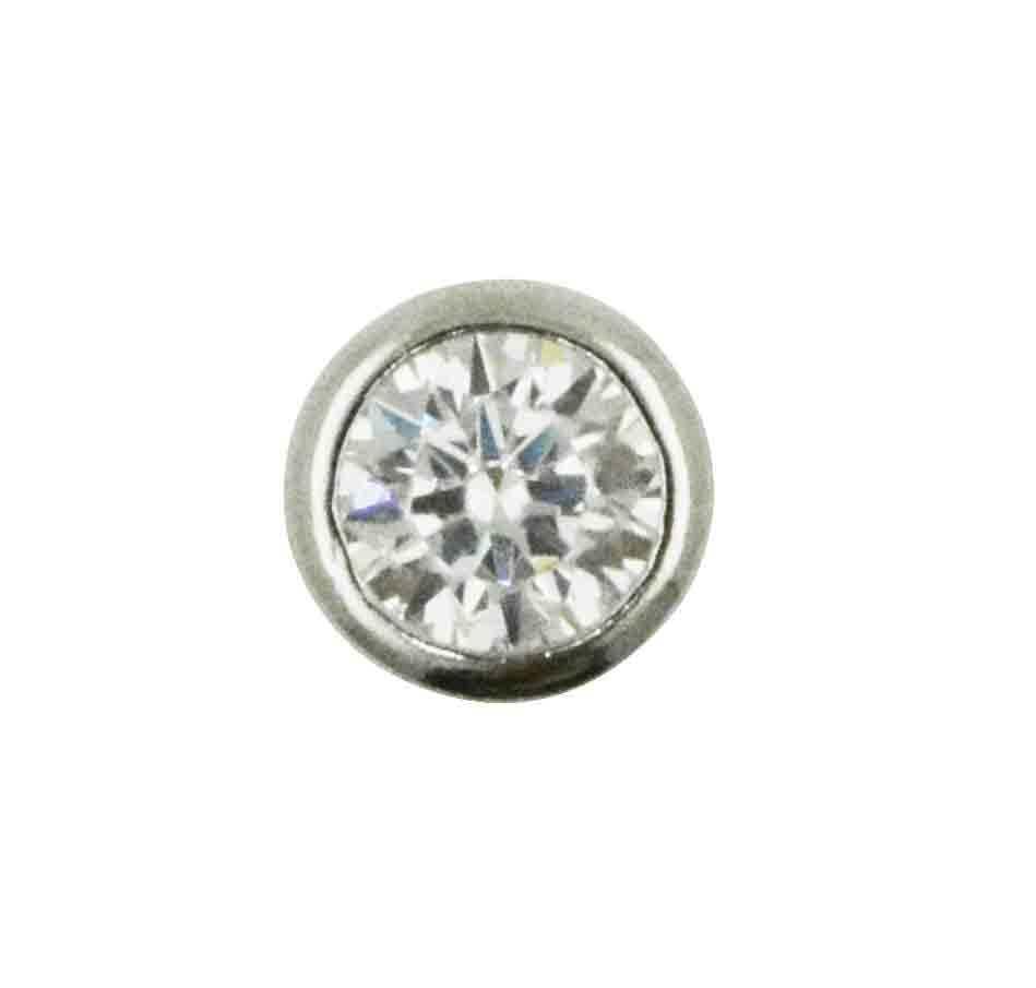 925 Silver Jewelry Simple Pendant One Stone Pendant