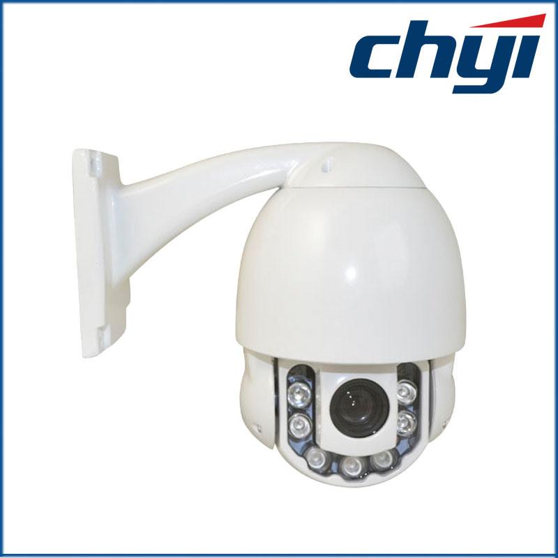 Waterproof 700tvl 10X Optical Mini PTZ Speed Dome Camera