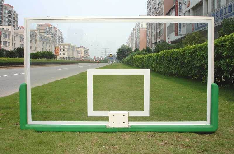 All Aluminum Frame Tempered Glass Basketball Backboard (GM-L-12)