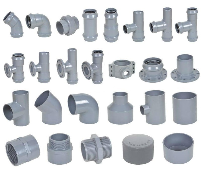 Pvc plumbing fittings pictures to pin on pinterest pinsdaddy for Plastic plumbing pipe types